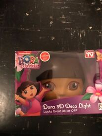 3D Dora The Explorer Light BRAND NEW!