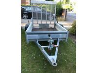 Heritage trailer with rear ramp ideal for gardeners or tip runs