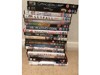 19 DVDs, £1 each. £2 for THE OFFICE