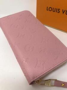 Louis Vuitton Empreinte Wallet Pink Red Black More Styles Available