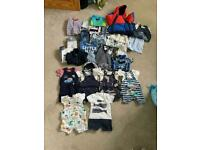 Baby boy 3-6 months clothes