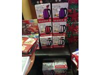 New in box kettles