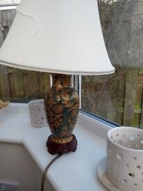 2 table lamps £10 each