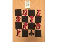 Vivienne Westwood WORLD's END Tshirt BRANDNEW Size S