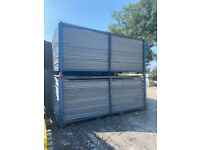 Used ~ 3.45 x 2m Heras Fencing Panels - Temporary Site Security