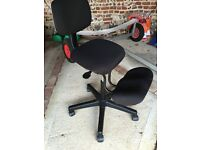 Solace kneeling chair with back support, very comfortable!