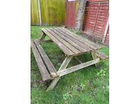 Pub/picnic bench