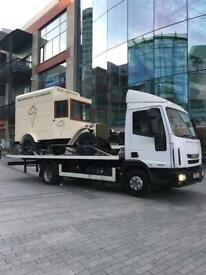 24-7 CAR VAN RECOVERY TOW TRUCK TOWING VEHICLE BREAKDOWN FORKLIFT TRAILER TIPPER DELIVERY TRANSPORT