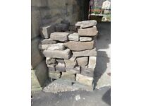 Yorkshire Stone - Over 1 Cubic Metre - Flat Faced