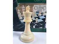 Giant garden chess set RRP £199.99 for just £20!