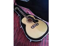 Epiphone EJ200 (with hard case)