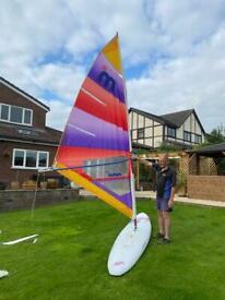 Hi fly nova windsurfer