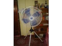 Powerful 3 speed stand fan