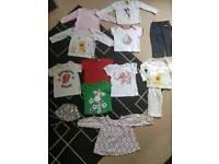Baby Girl bundle 12 items