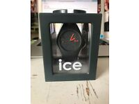 Gray Ice-watch. In the box, only been used once.
