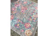 Beautiful floral rug
