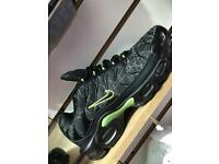 Mens Nike air max TNs blk Lazer green (6-11)