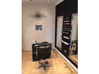 BEAUTY + HAIR SALON FOR SALE 1x STAND UP SUNBED WITH CHANGING CUBICLE 4xSTYLING MIRRORS 2xBACK WASH