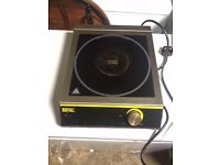 Used Heavy Duty Industry Use Baffalo Induction Cooker Hob 3100W
