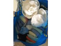 Job lot of reuseable nappies
