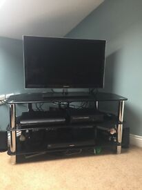 Samsung 32 Inch T.V. also Alphason Black Stand