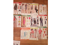 Assortment of Womens Sewing patterns - All brand new and uncut