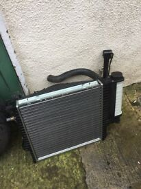 Bmw radiator