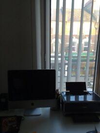 Apple iMac computer with Canon colour printer
