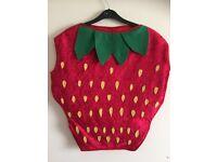 Strawberry Kids Costume - New
