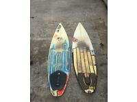 2 cheap surfboards for sale