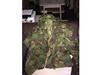 Waterproof army jacket