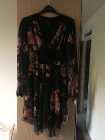 New look flowery dress