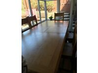 Dining Table and 8 x Chairs - Victoriana