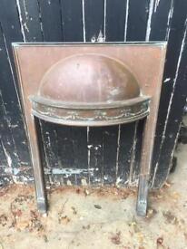 Copper fire place 85