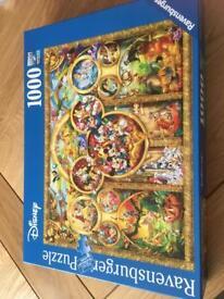 Disney 1000 piece ravensburger puzzle