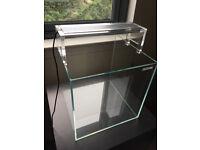 Biotopia 35cm cube aquarium with LED