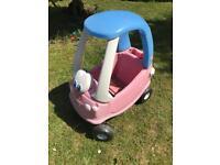 Little tikes car pink princess