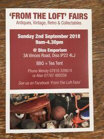Antiques, Vintage, Retro & Collectables Market