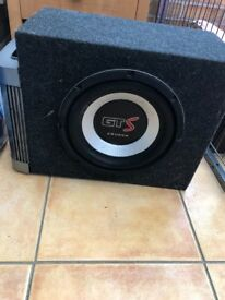 This is a GT S crunch. T1 audio. Good sound. Only taken out of car, when car sold