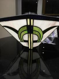 Deco style Glass light shade