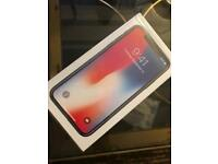 BRAND NEW SEALED IPHONE X 256gb UNLOCKED SPACE GREY