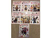 Lego sticker books - brand new