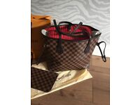 Neverfull MM tote bag with pouch
