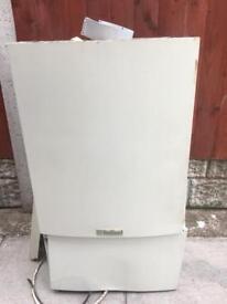 Valiant combi boiler and flue