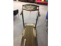V-Fit treadmill (motorised running machine)