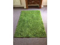 IKEA green rugs