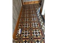 Old fashions tiles, all in really good condition
