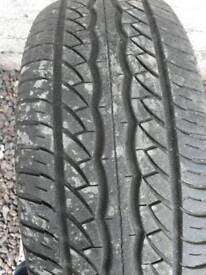 New 215/60R15 tyre