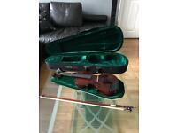 Windsor Colour Violin Size 4 in prestige condition with case, bow and rosin!!