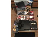 PS3 & x2 controllers & 10 games